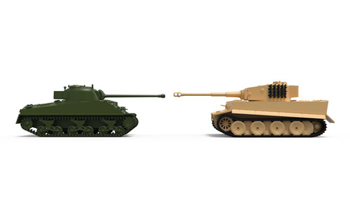 Airfix A50186 Classic conflict Tiger 1 vs Sherman Firefly