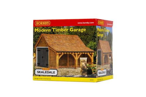 Hornby R7271 OO Gauge Modern Timber Garage