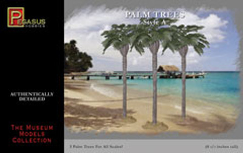 Pegasus Hobbies 6501 palm trees (style A)