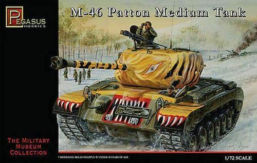 Pegasus Hobbies 7506 1:72 M-46 Patton Medium Tank