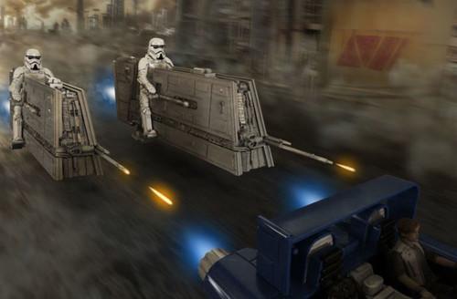 Reve 06768 Solo Star Wars Imperial Patrol Speeder