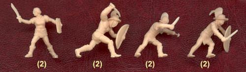 Pegasus Hobbies 7100 1:72 Gladiators 1st century A.D.