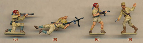 Waterloo 1815 AP 006 1:72 Italian Infantry (at El Alamein) 1942/43