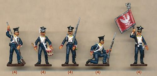 Waterloo 1815 AP 008 1:72 Polish Infantry 1812 / 14