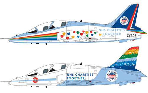 Airfix A73100 1:72 NHS Charities Together BAe Hawk