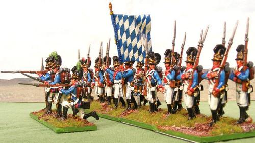 HaT 28011 Napoleonic Bavarian Infantry (Action Pos