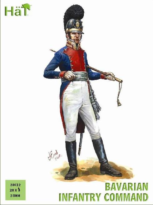 HaT 28012 Napoleonic Bavarian Infantry Command 28m