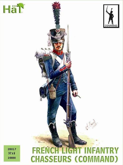 HaT 28017 Napoleonic French Light Infantry Chasseu
