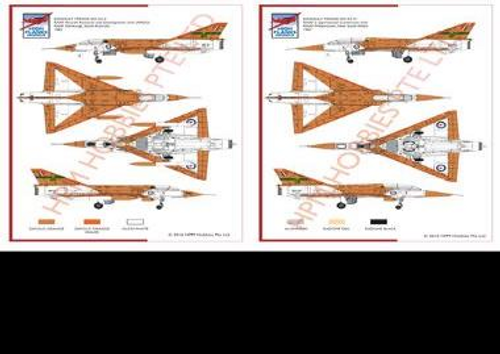 High Planes Dassault Mirage IIIO/D RAAF Twin Kit 1