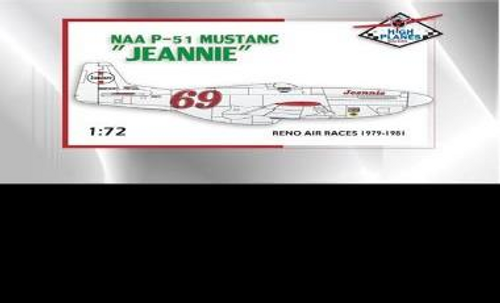 "High Planes P-51D Mustang ""Jeannie"" Racer Conversi"