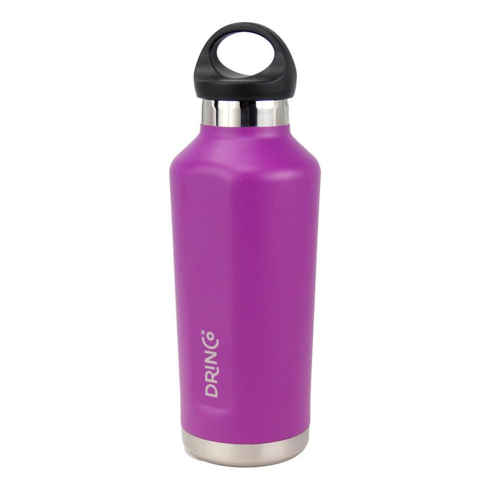 Drinco Stainless Steel Water Bottle Triple Insulated Canteen Shatterproof, Leak Proof, Vacuum, Powder Coated, 18/8 Grade, Insulated Water Bottle, 17oz