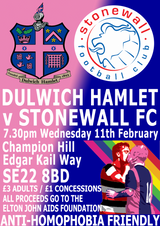 Dulwich Hamlet to take on the World Champions on Wednesday