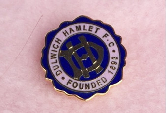 Anniversary Crest Badge - Navy