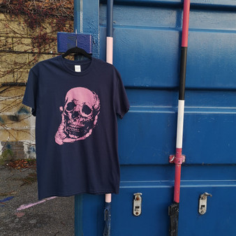 Adult Yorick Navy T-Shirt