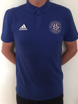 Adult Adidas Teamwear Blue Polo Shirt