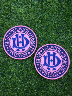 Dulwich Hamlet Football Club Round Patch