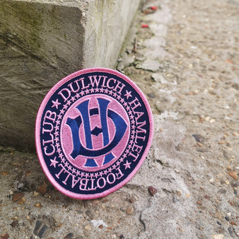 Dulwich Hamlet Football Club Round Crest Patch