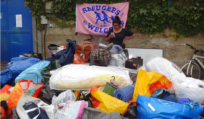 Dulwich to Calais Refugee Collection - September 2015