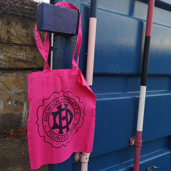 Pink Club Crest Tote Bag