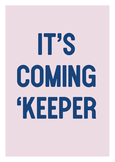 Rabble Poster - It's Coming 'Keeper (Pre-Order Collection)