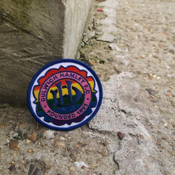 Dulwich Hamlet Crest LGBTQ+ Round Patch