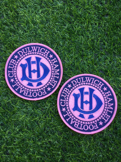 Dulwich Hamlet Football Club Round Patch