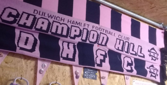 Dulwich Hamlet Champion Hill Scarf
