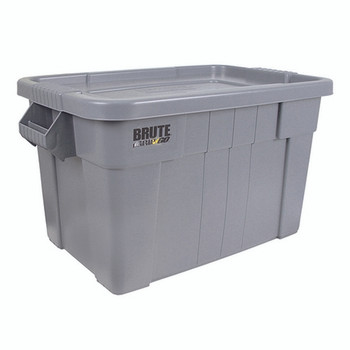 Brute Tote Box/Lid 75L Grey 382216