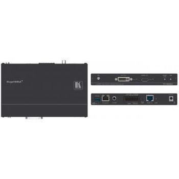 4K UHD HDMI/DVI Audio & Data over HDBaseT Twisted Pair Receiver TP-588D