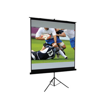 60 4:3 Ratio Matt White Height Adjustable Tripod Projection Screen