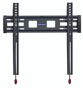 Low Profile Fixed TV Mounting Bracket with Smart Locking Design