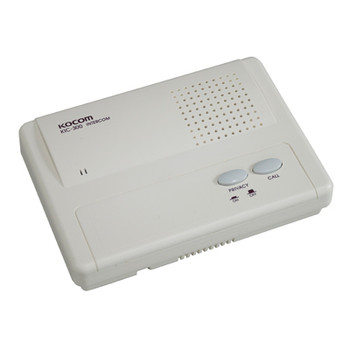 Kocom White High Quality Slave Intercom Unit