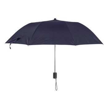 Black Polyester Folding Pocket or Handbag Umbrella