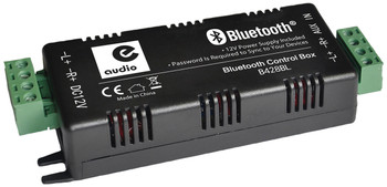 e-audio Bluetooth 4.0 Stereo Audio Amplifier 4 x 15W with Aux Input [B428BL]