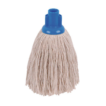 2Work 12oz Twine Rough Mop Blue PK10