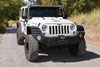 Rock-Slide Engineering Jeep JK Rigid Front Bumper / NO Bull Bar / With Winch Plate - Steel