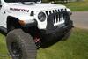 Rock-Slide Engineering Stubby Front Bumper w/ Bull Bar Jeep Wrangler JL -  FB-S-100-JL