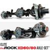 Dynatrac Elite ProRock XD60/80 Axle-Set for Jeep JL/JT
