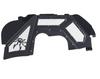 JT/JL Front Inner Fender Kit - Vented - Black - 19-02-980VP1