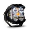 Baja Designs LP4 Pro Spot or Driving/Combo LED Light White - Single