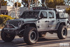Halo 2.0 Roof Rack LBR Series With Off Road Light Mounts For Jeep Gladiator