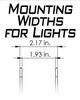 Artec Industries JL A-pillar Dual LED Cube Light Mounts - JL5603