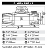 WARN 103254 VR EVO Series Winch 12,000lb with Steel Cable