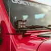 Rigid Industries 41659 A-Pillar LED Light Mounts for 18-21 Jeep Wrangler JL