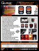 Quake LED Jeep Gladiator JT Step Up LED Tail Lights