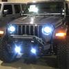 Quake LED Jeep Wrangler JL/Gladiator White DRL Halo/Amber Turn Signal Headlight/Fog Light Set