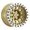 Black Rhino Primm Beadlock- Matte Gold, Machined Ring Wheels
