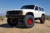 Black Rhino Primm Beadlock Candy Red W/ Black Bolts Wheels, Cherokee XJ