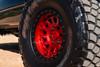 Black Rhino Primm Beadlock Candy Red W/ Black Bolts Wheels