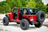 Black Rhino Reno Beadlock- Matte Black, Brass Bolts Wheels, Jeep Wrangler